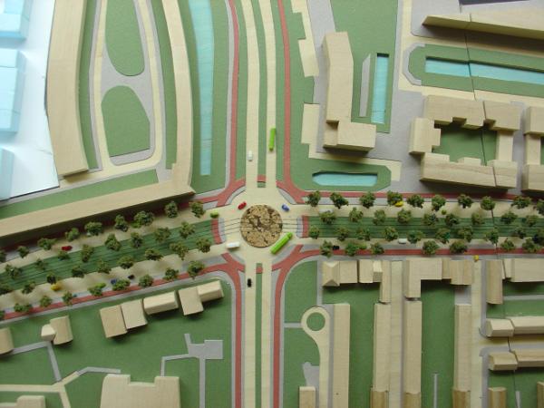 Idee herinrichtingkruispuntLoosduinen Den-Haag 2013