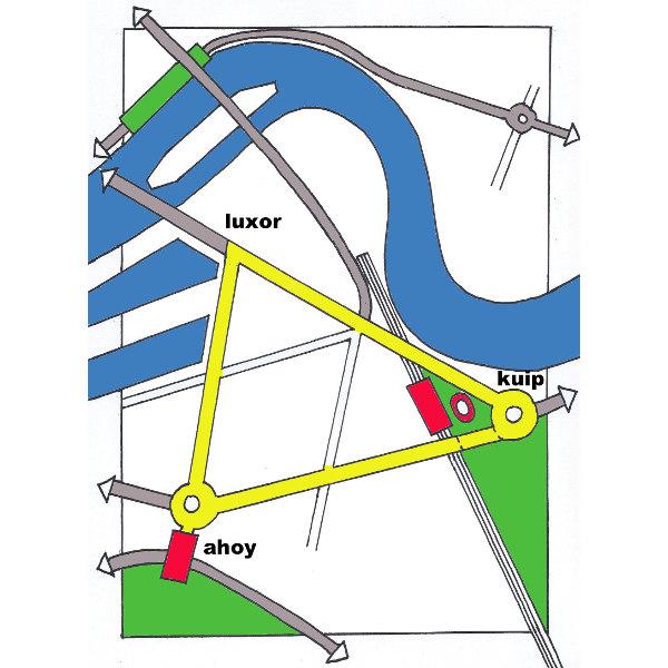 idee aanpak OV stedenbouwkundig driehoek rotterdam-zuid
