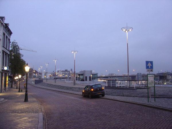 Verlichting Maasboulevard Maastricht 2006 2