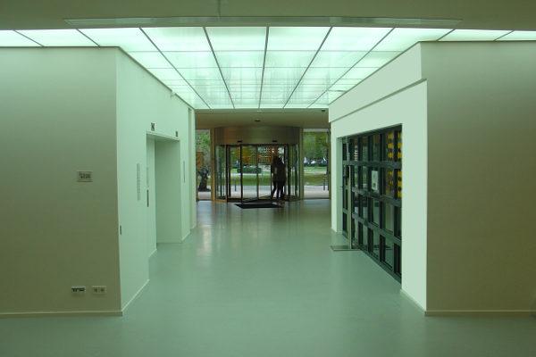 verlichting kantoor Bijenkorf Amsterdam 2011