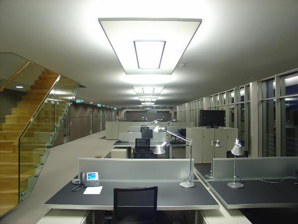 Verlichting kantoor Pon Almere 2008