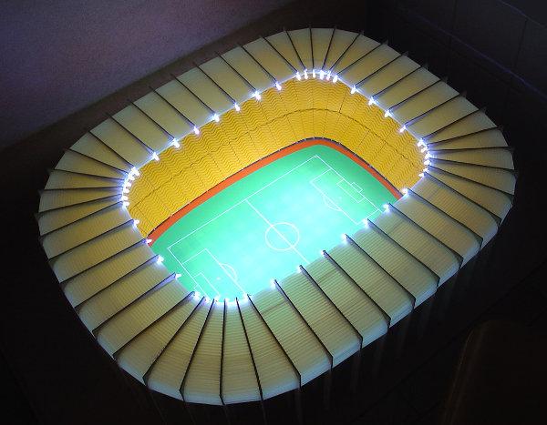 Idee nieuw stadion Rotterdam zuid 2008