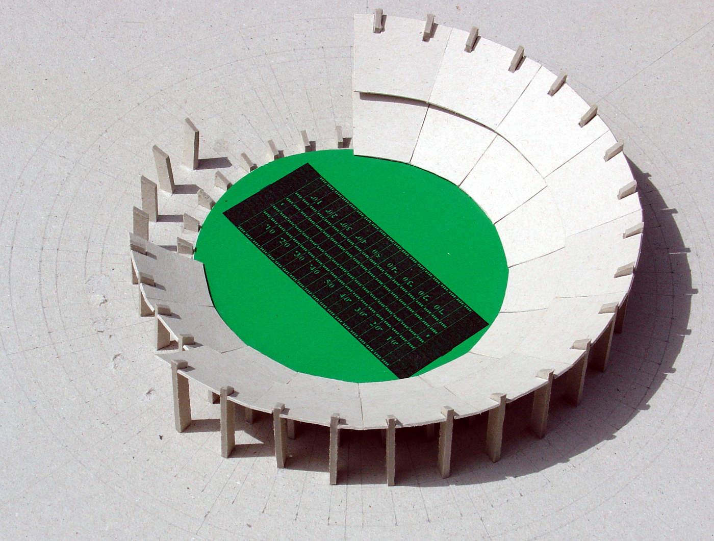 Idee voor rond stadion Los Angeles 1995