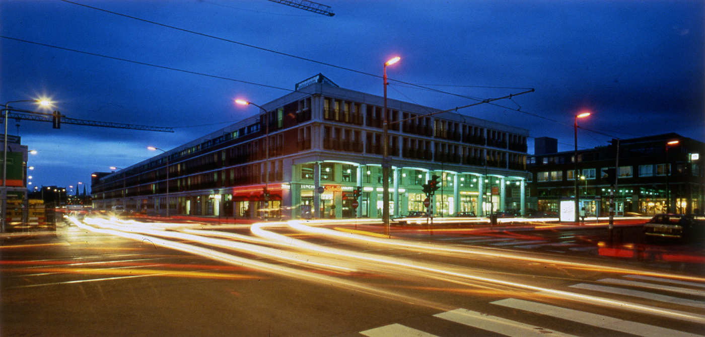 herinrichting Vaillantlaan Den-Haag 1995-2006