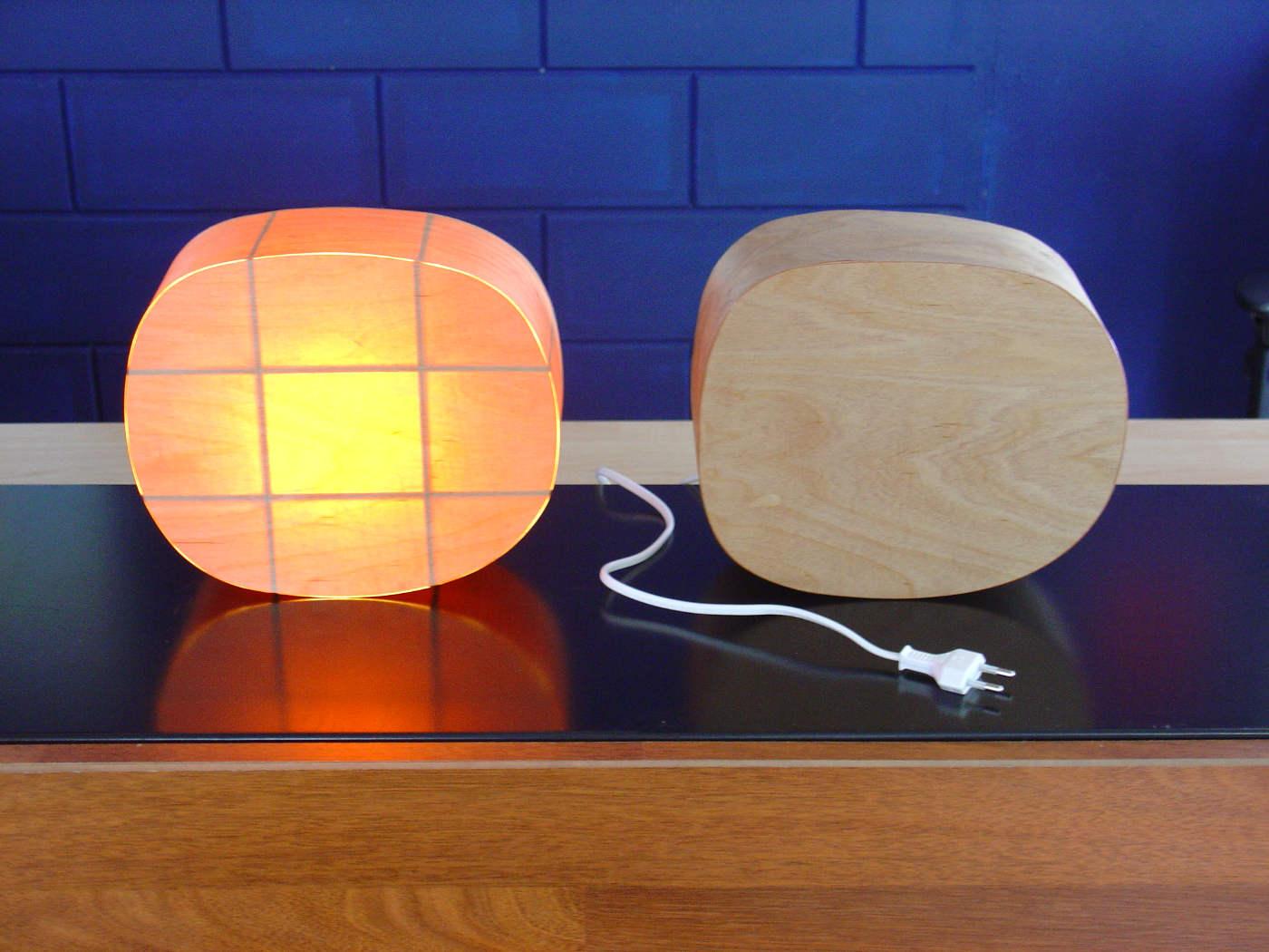 houten lichtobjecten 2010