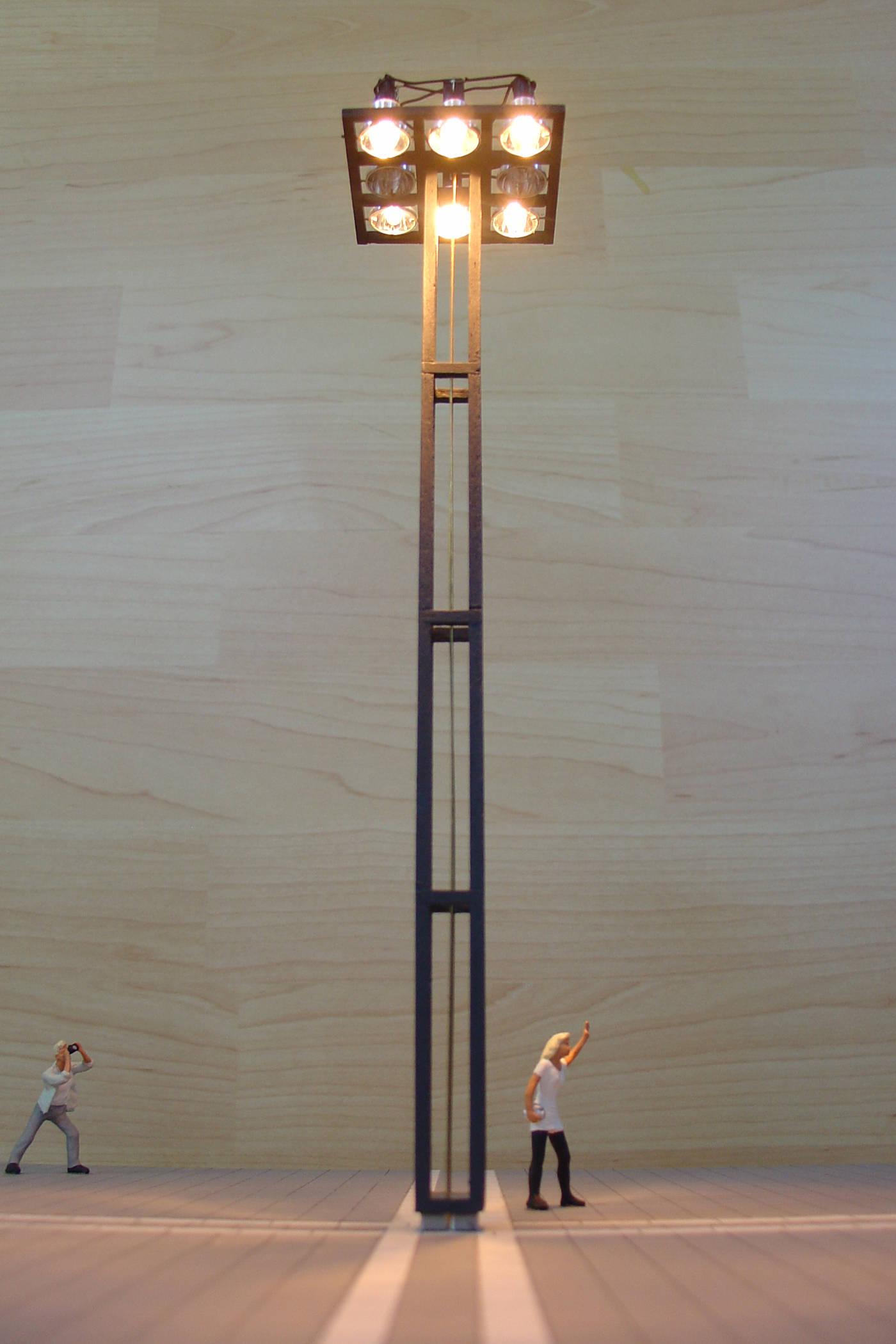 idee voor een lichtmast Maastricht 2000