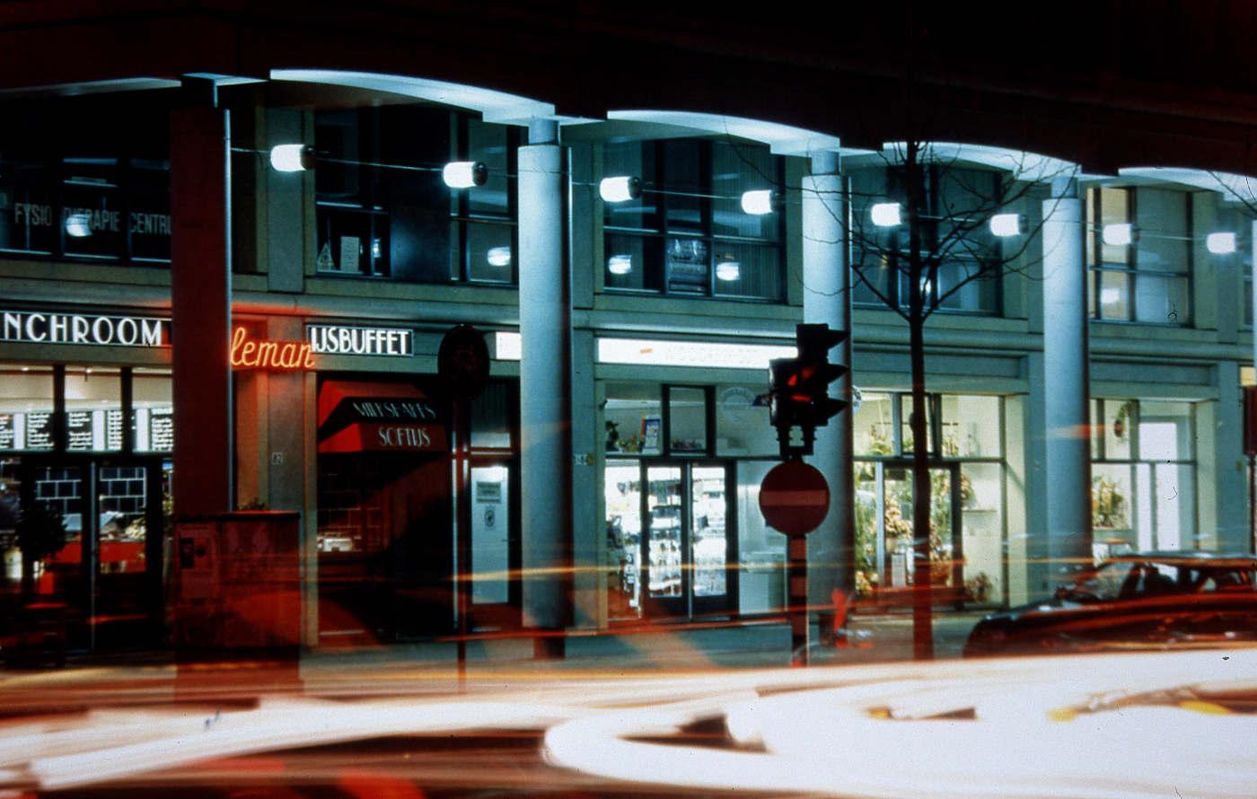 verlichting Paletplein DenHaag 1996